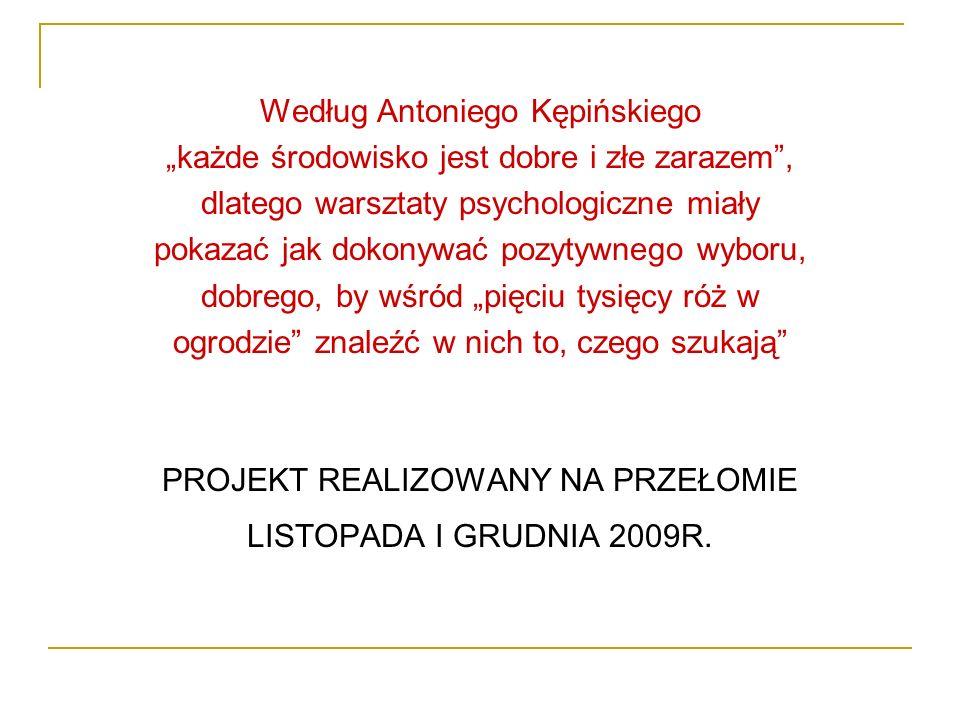 Według Antoniego Kępińskiego