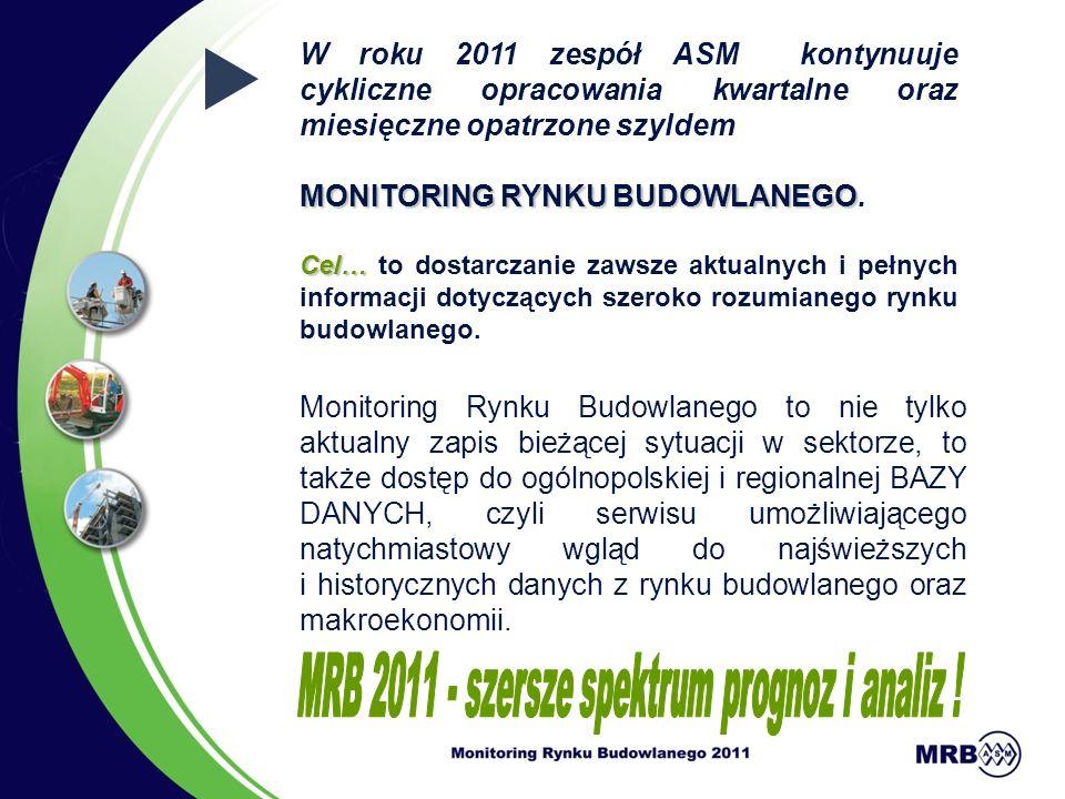 MRB 2011 - szersze spektrum prognoz i analiz !