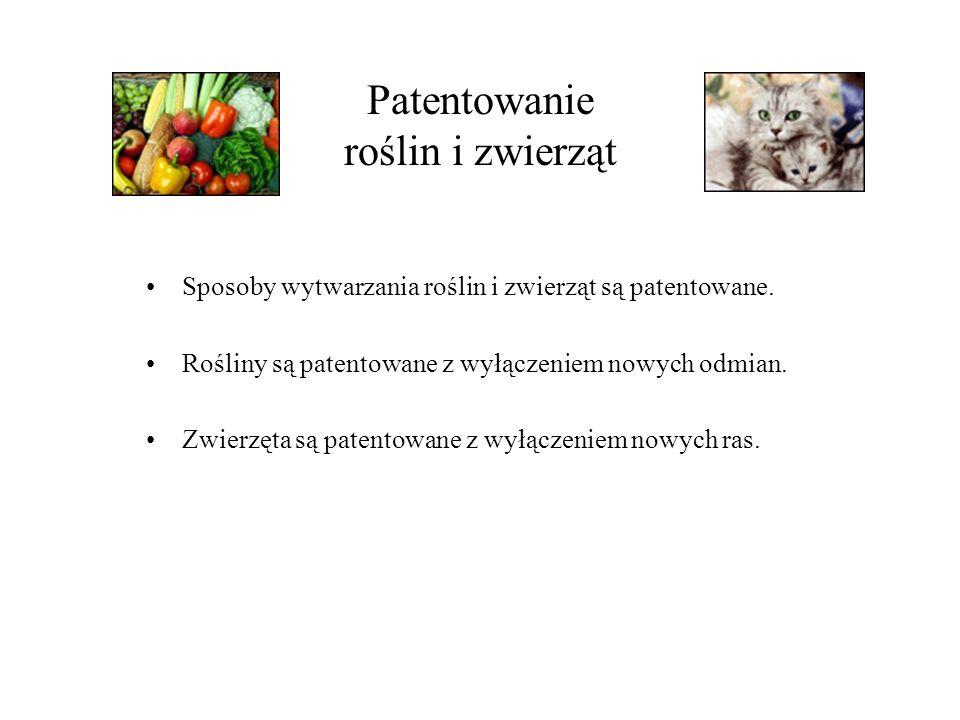 Patentowanie roślin i zwierząt