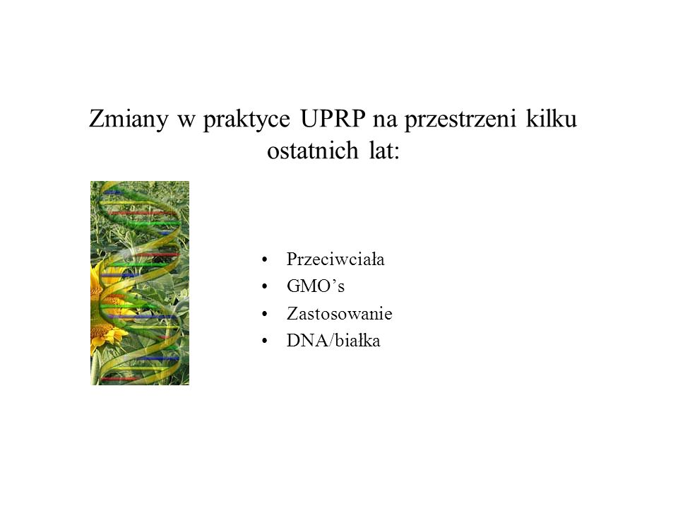 Zmiany w praktyce UPRP na przestrzeni kilku ostatnich lat: