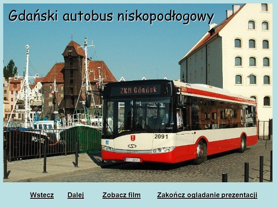 Gdański autobus niskopodłogowy