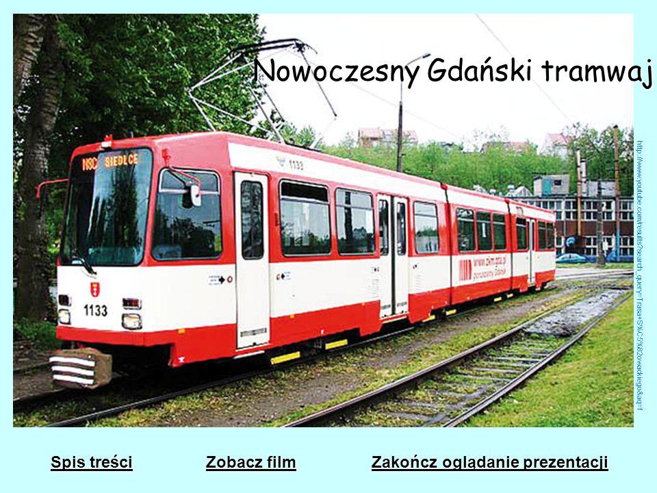 Nowoczesny Gdański tramwaj