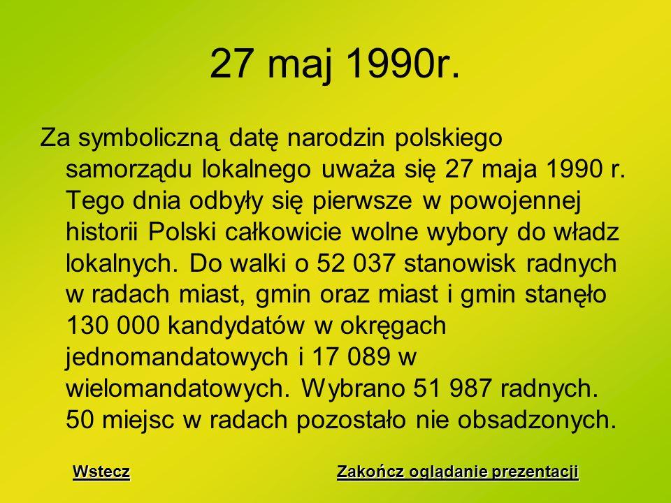 27 maj 1990r.