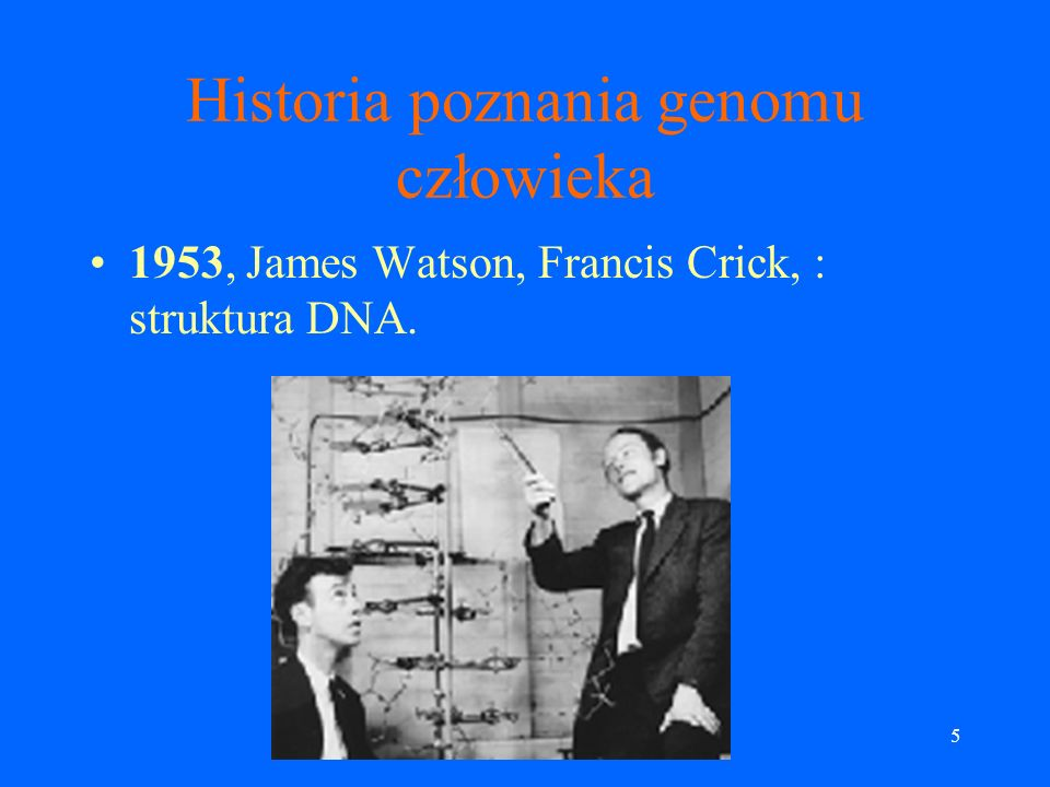 Historia poznania genomu człowieka