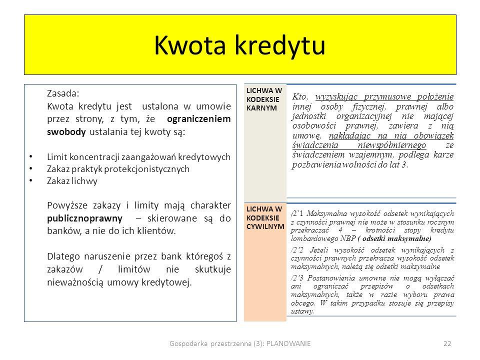 Gospodarka przestrzenna (3): PLANOWANIE