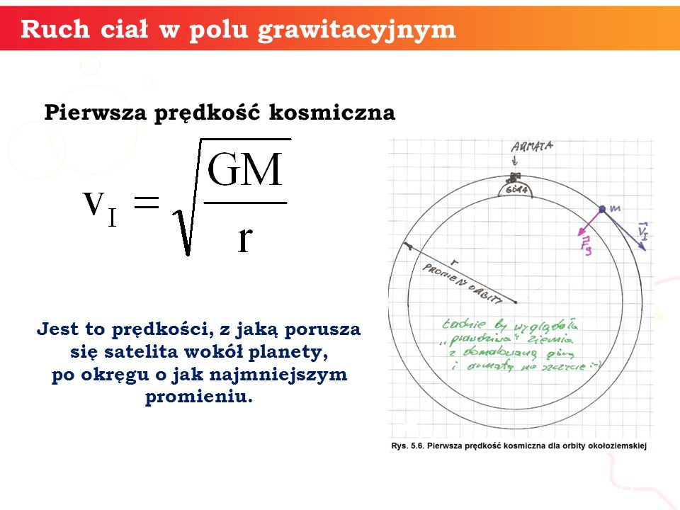 Ruch ciał w polu grawitacyjnym