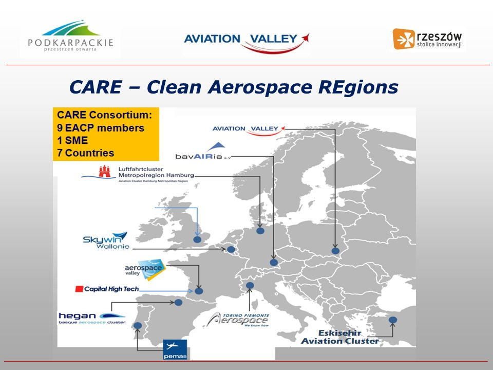 CARE – Clean Aerospace REgions