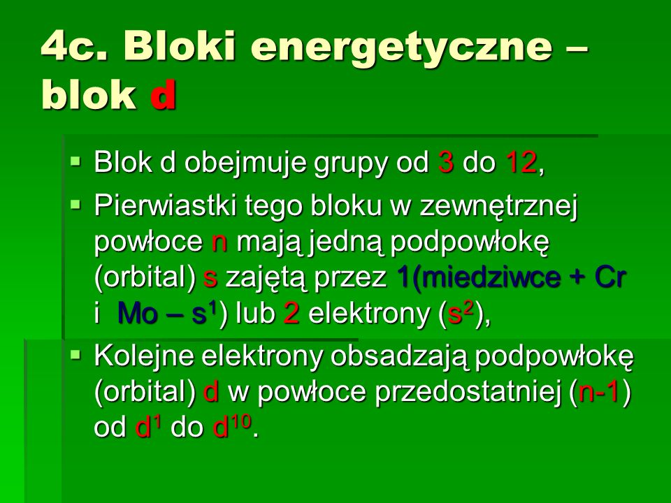 4c. Bloki energetyczne – blok d