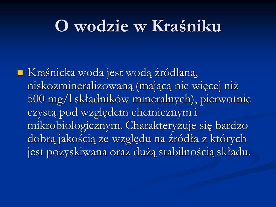 O wodzie w Kraśniku