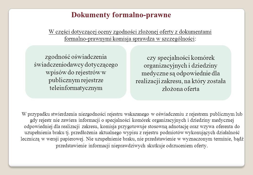 Dokumenty formalno-prawne