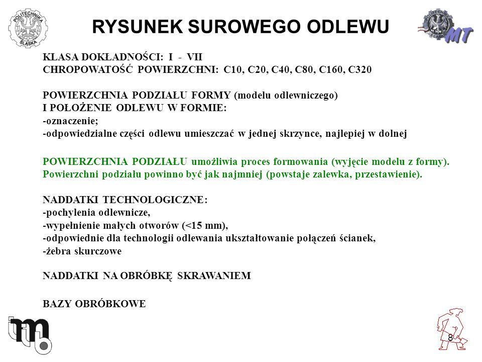 RYSUNEK SUROWEGO ODLEWU
