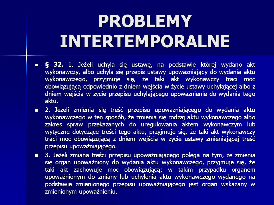 PROBLEMY INTERTEMPORALNE