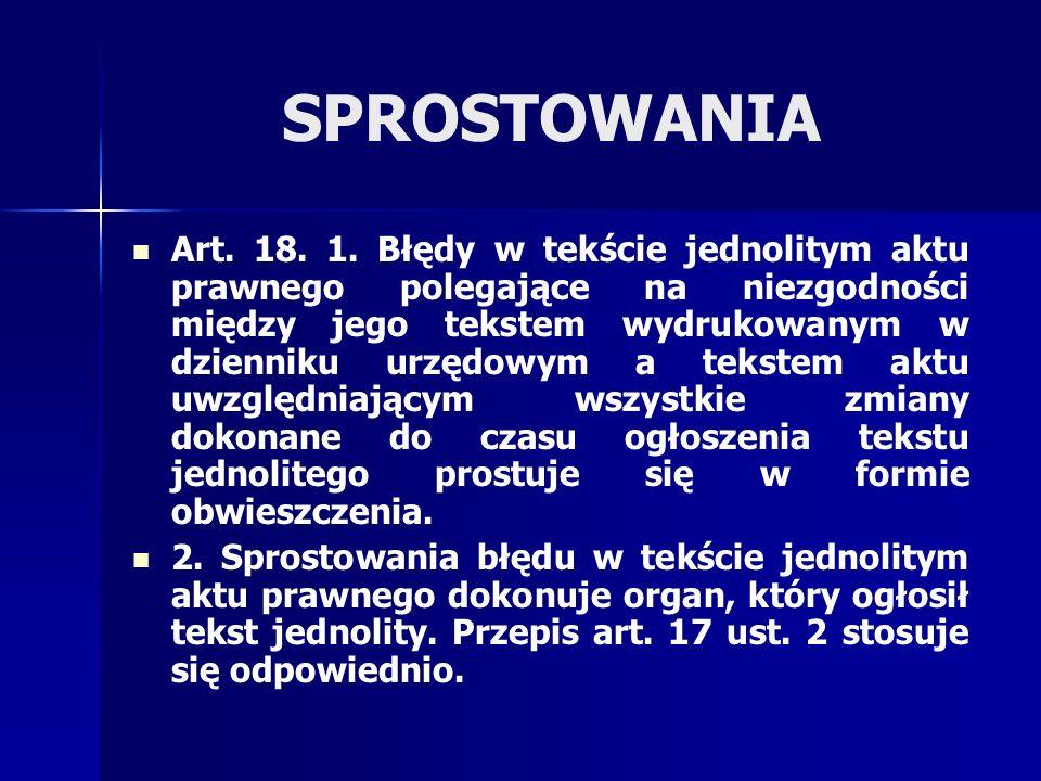 SPROSTOWANIA