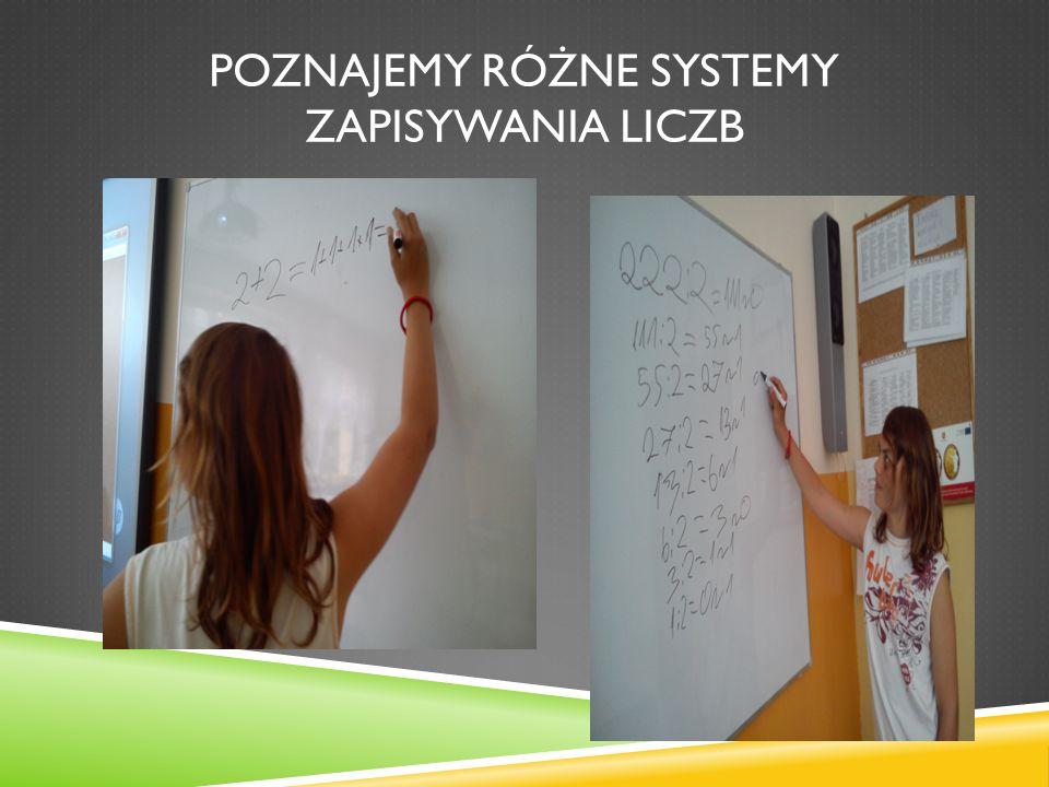 Poznajemy różne systemy zapisywania liczb