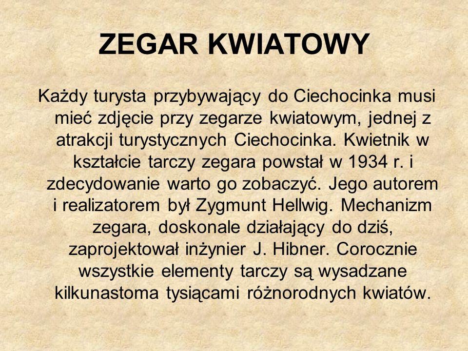ZEGAR KWIATOWY