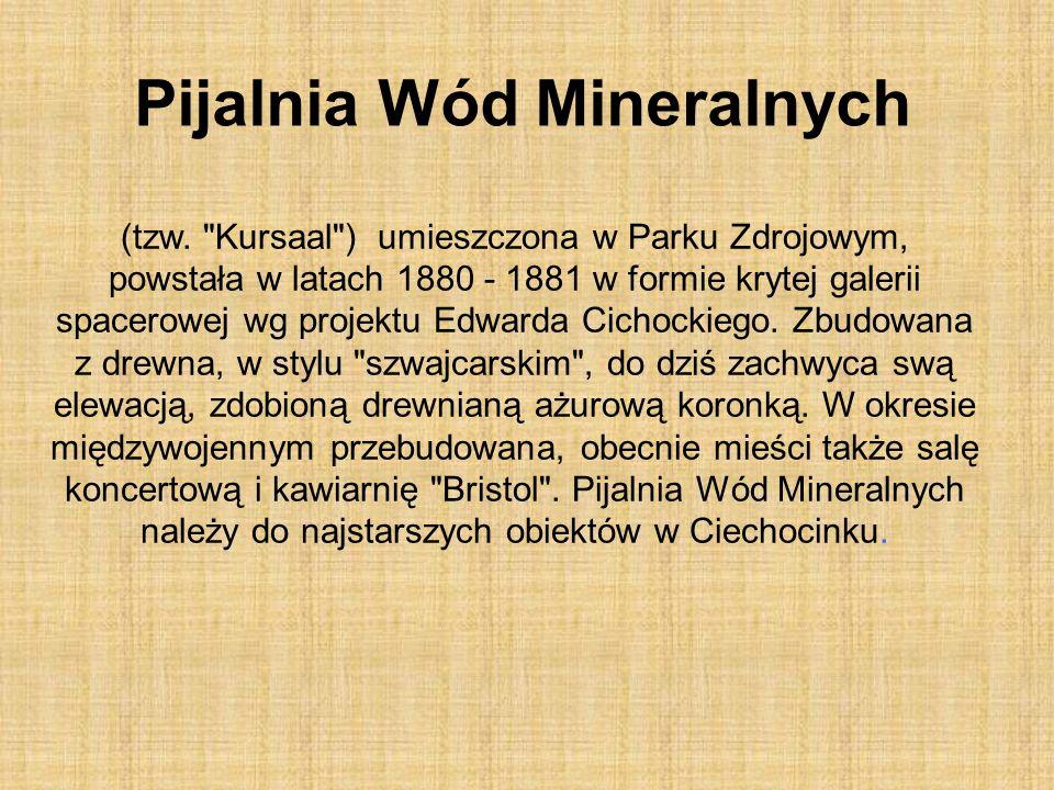 Pijalnia Wód Mineralnych