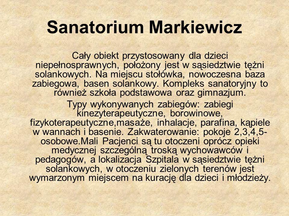 Sanatorium Markiewicz