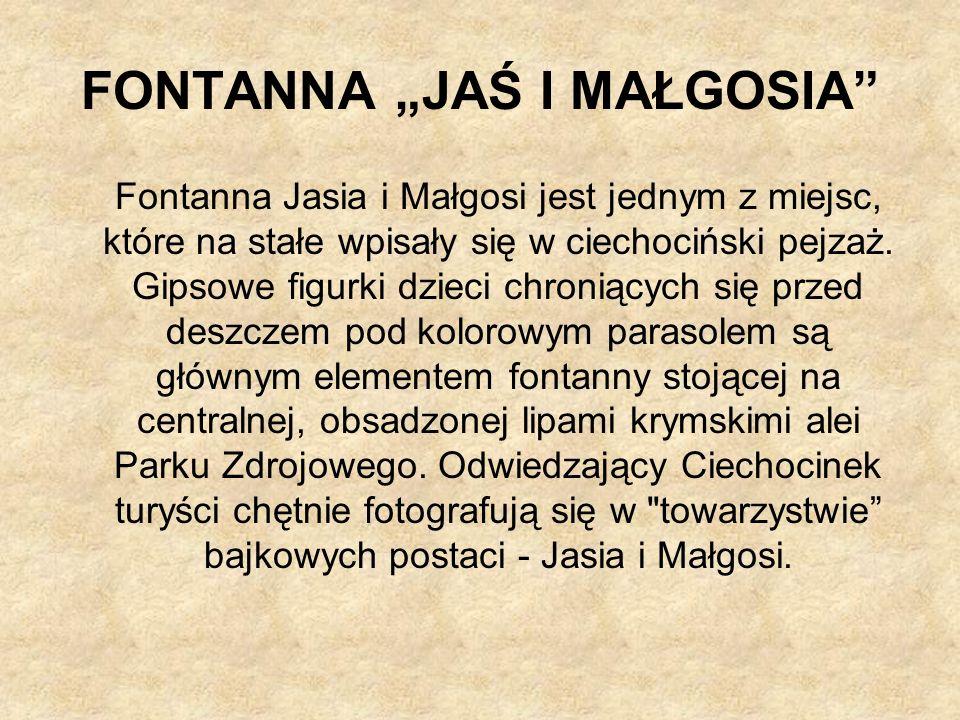 """FONTANNA """"JAŚ I MAŁGOSIA"""
