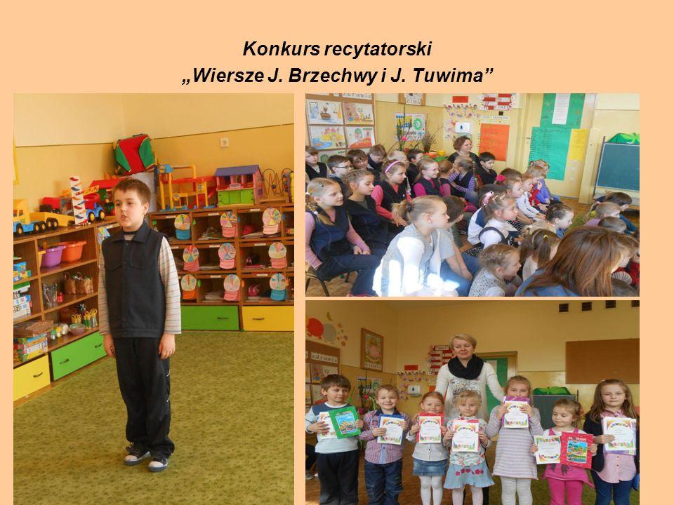 """Konkurs recytatorski """"Wiersze J. Brzechwy i J. Tuwima"""