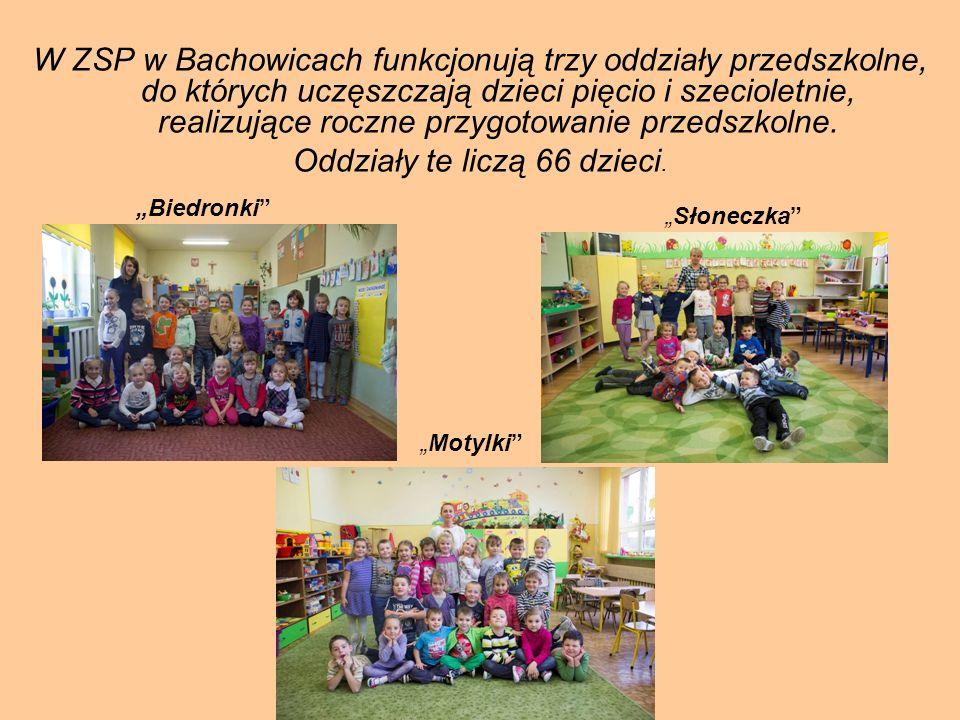 Oddziały te liczą 66 dzieci.