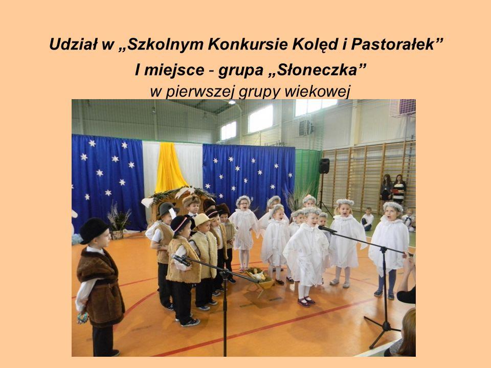 """Udział w """"Szkolnym Konkursie Kolęd i Pastorałek"""