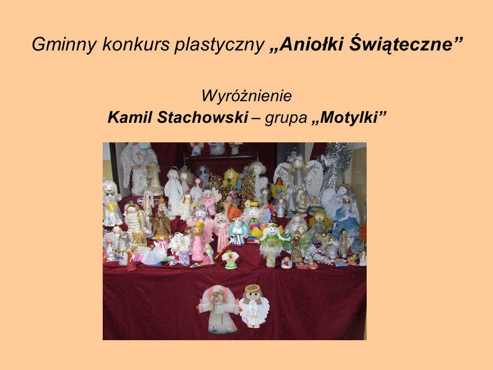 """Gminny konkurs plastyczny """"Aniołki Świąteczne"""