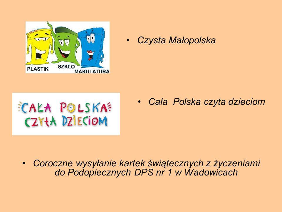 Czysta Małopolska Cała Polska czyta dzieciom.