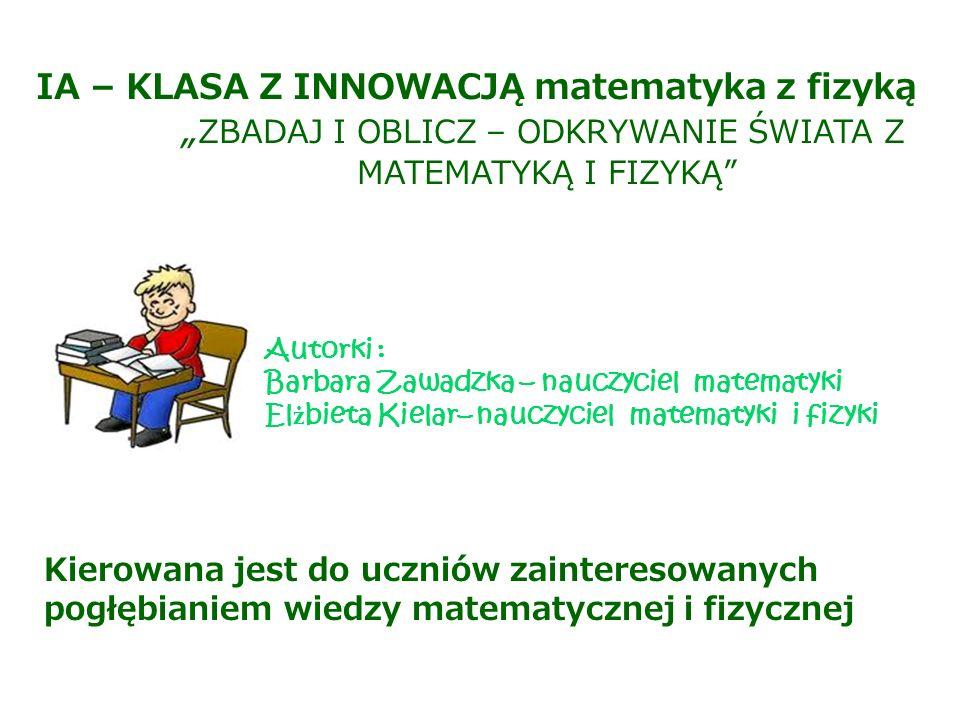 """""""ZBADAJ I OBLICZ – ODKRYWANIE ŚWIATA Z"""