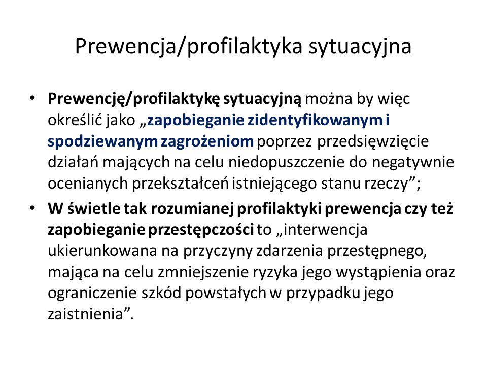 Prewencja/profilaktyka sytuacyjna
