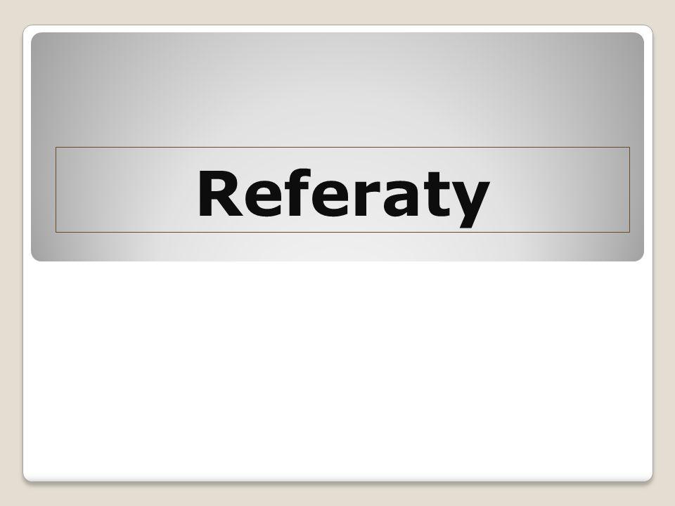 Referaty