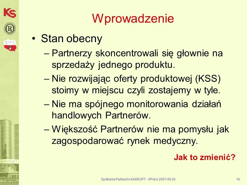 Spotkanie Partnerów KAMSOFT - SPAŁA 2007-05-20