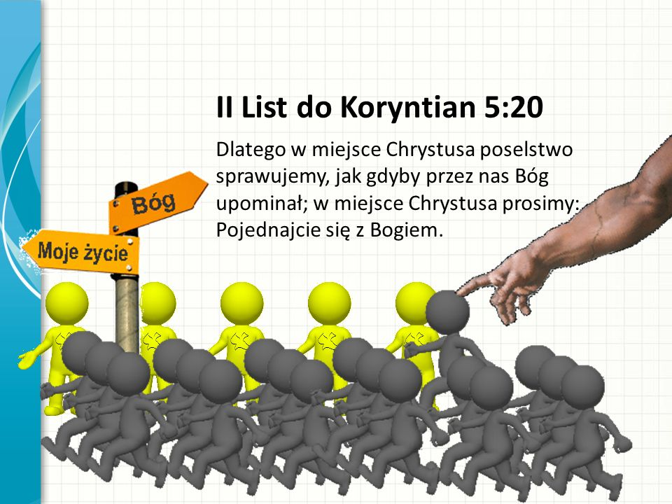 II List do Koryntian 5:20
