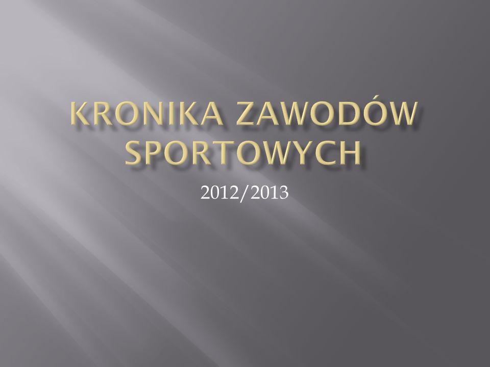 Kronika zawodów sportowych