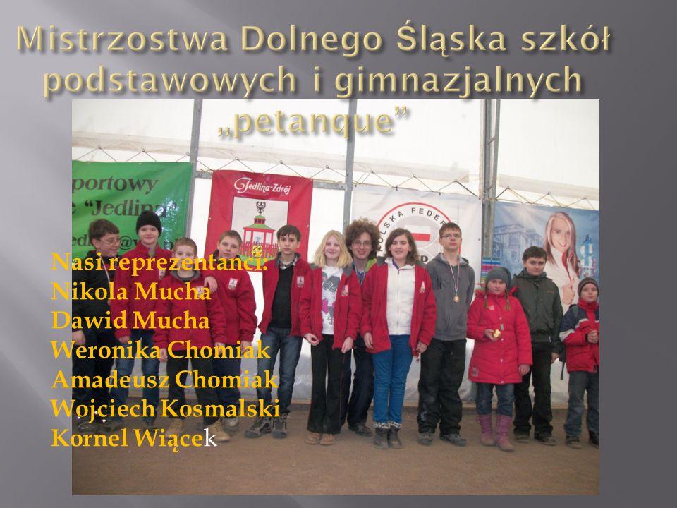 """Mistrzostwa Dolnego Śląska szkół podstawowych i gimnazjalnych """"petanque"""