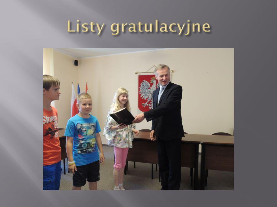 Listy gratulacyjne