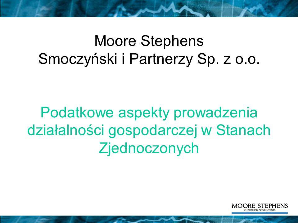 Moore Stephens Smoczyński i Partnerzy Sp. z o. o