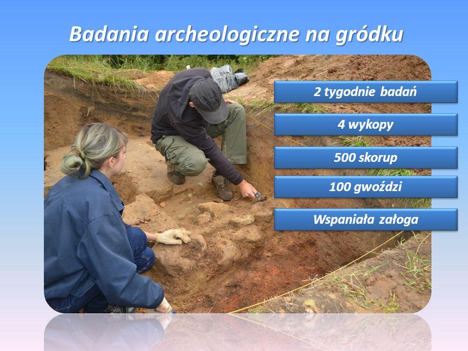 Badania archeologiczne na gródku