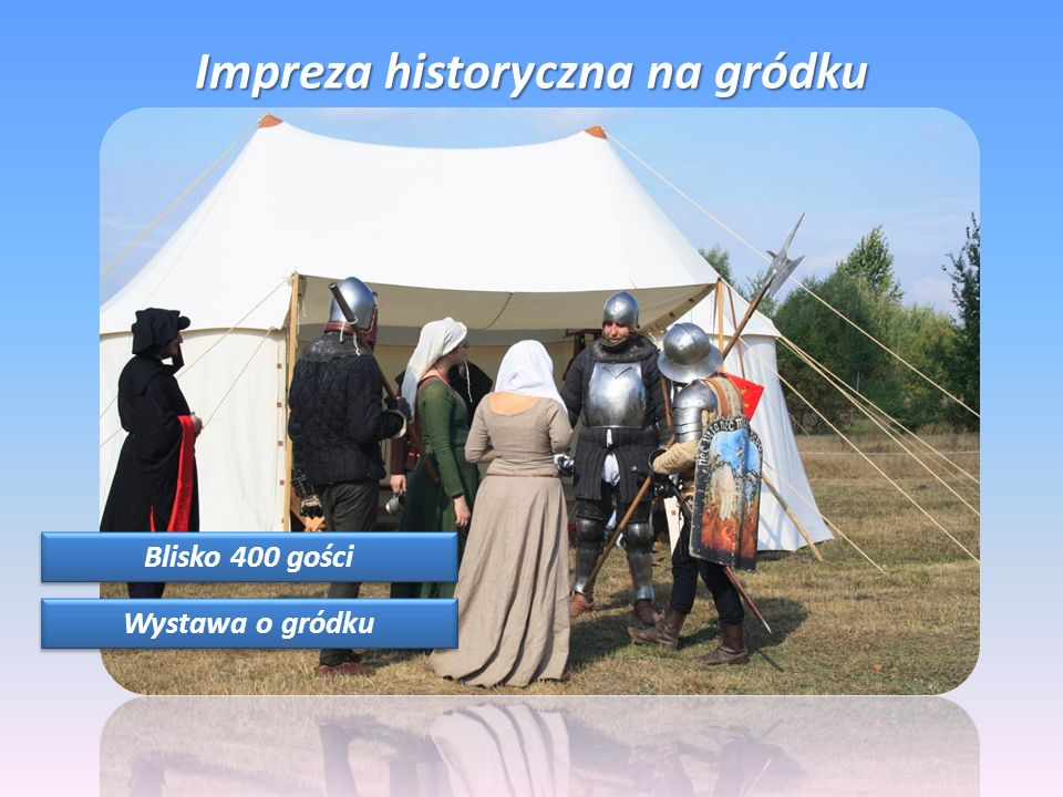 Impreza historyczna na gródku