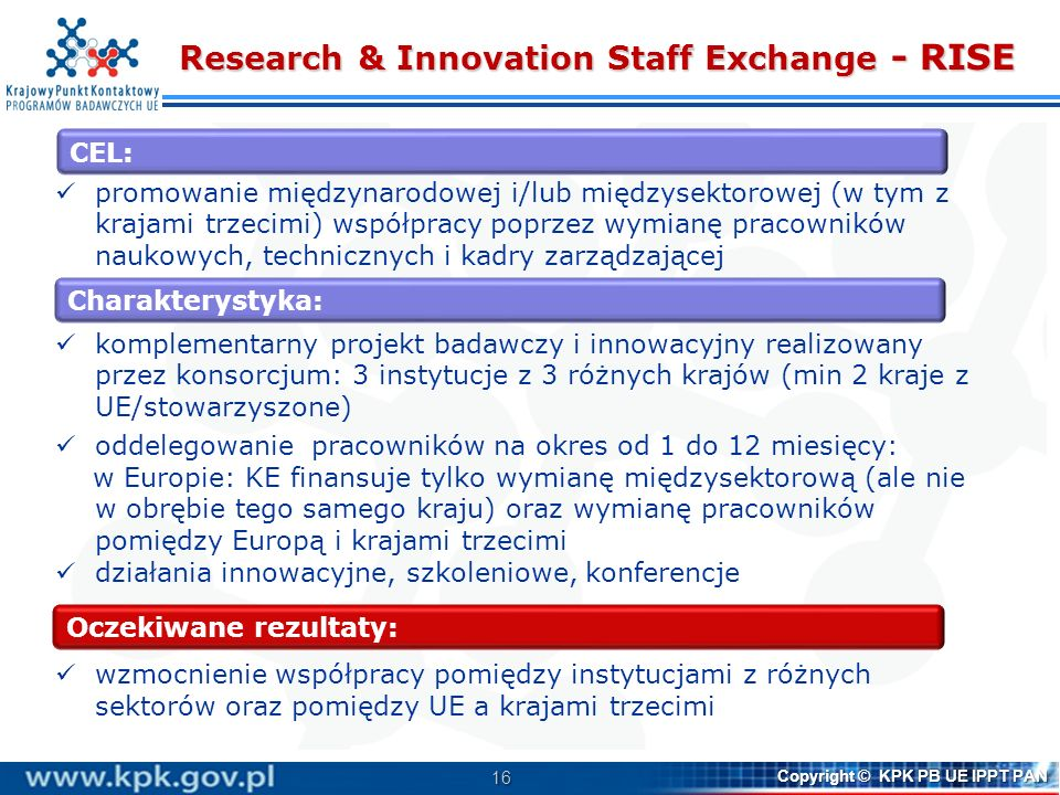 Research & Innovation Staff Exchange - RISE