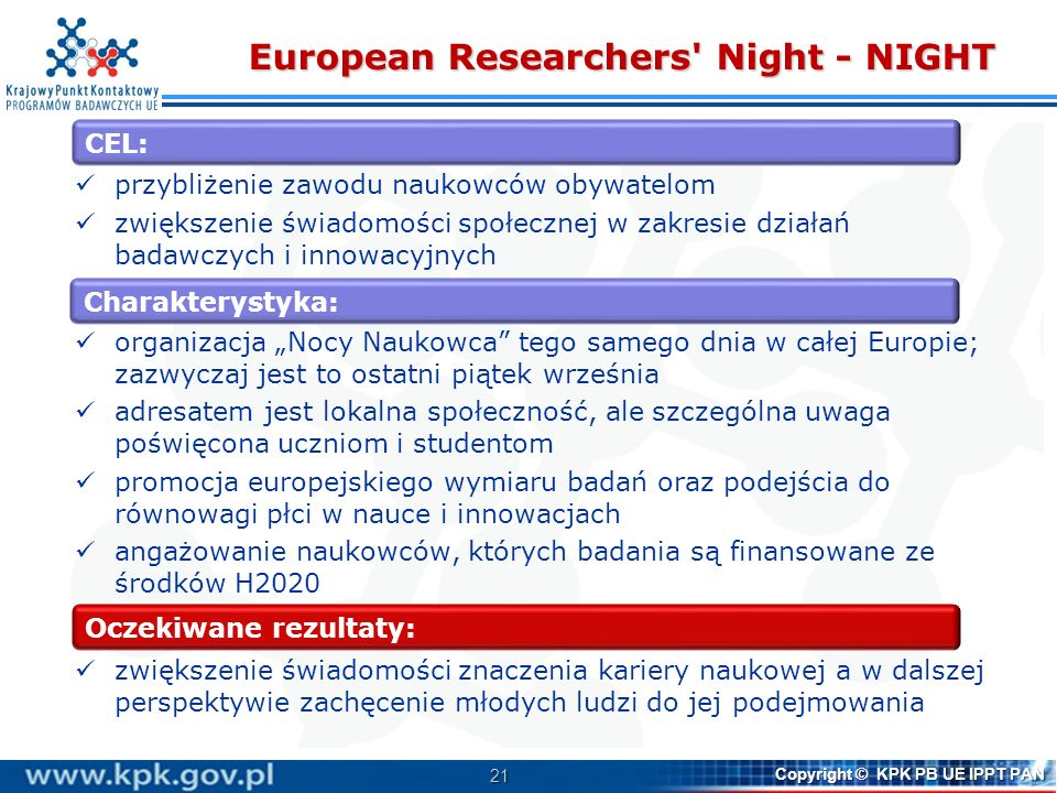 European Researchers Night - NIGHT