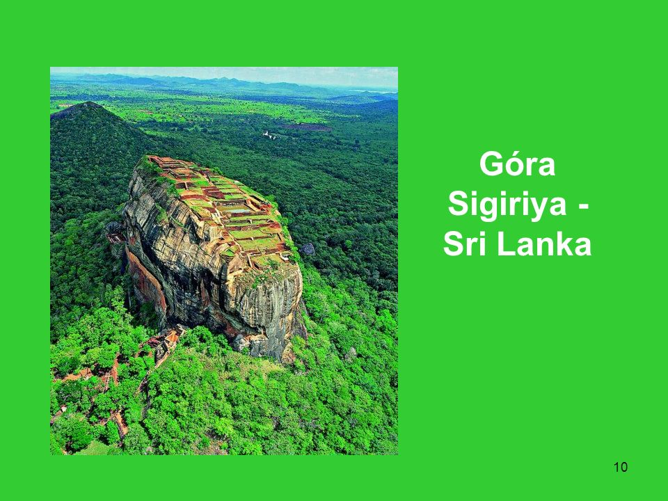Góra Sigiriya - Sri Lanka