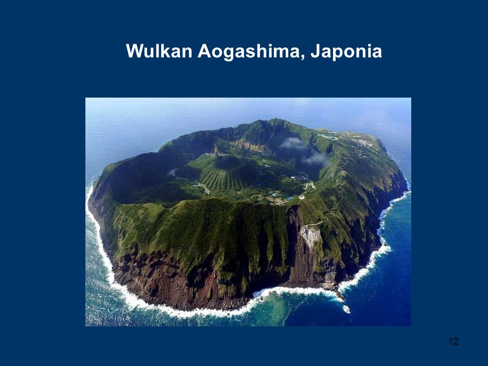 Wulkan Aogashima, Japonia