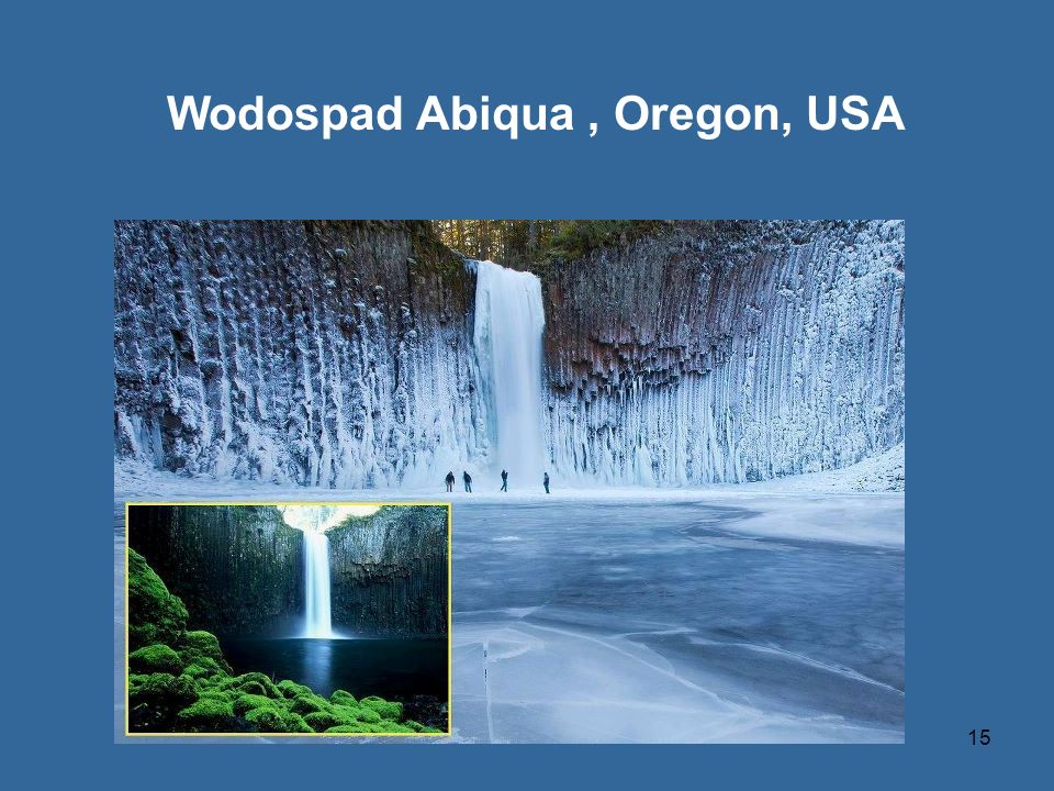 Wodospad Abiqua , Oregon, USA