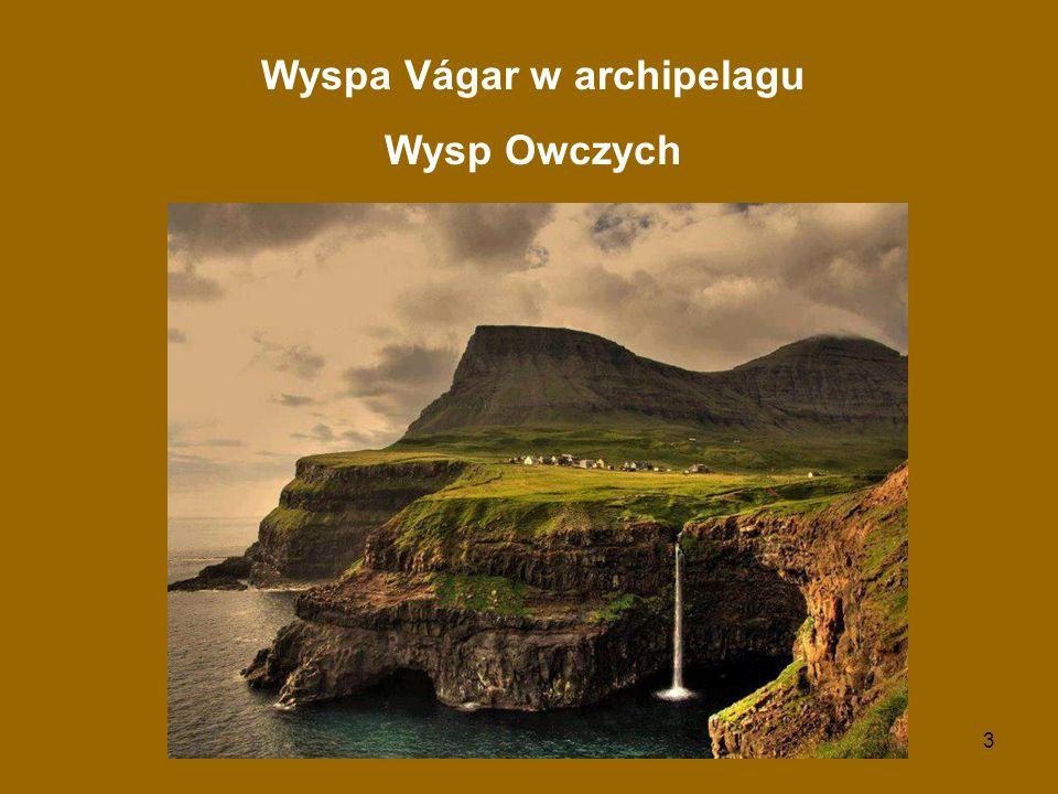 Wyspa Vágar w archipelagu