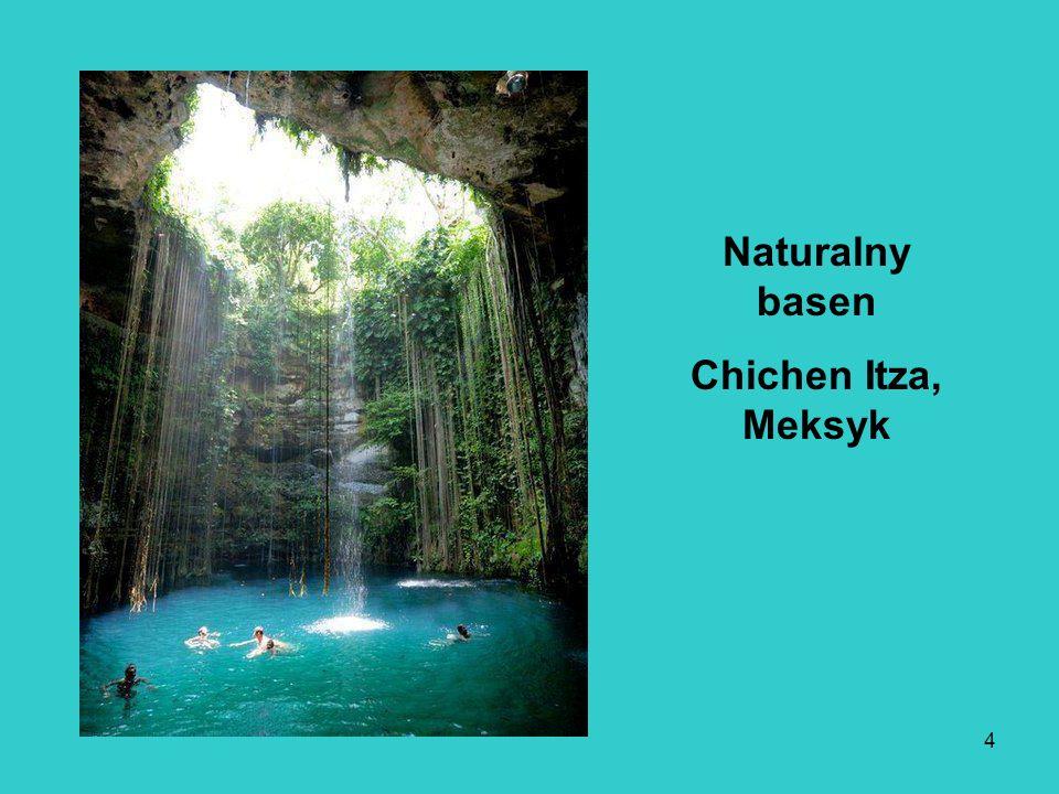 Naturalny basen Chichen Itza, Meksyk