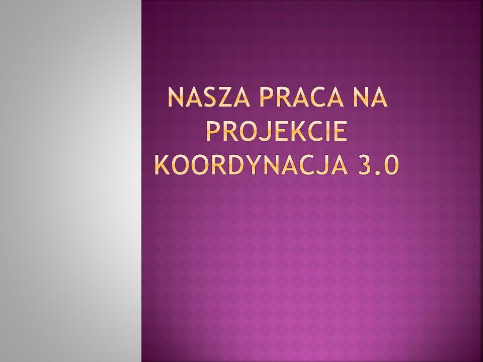 Nasza praca na projekcie koordynacja 3.0