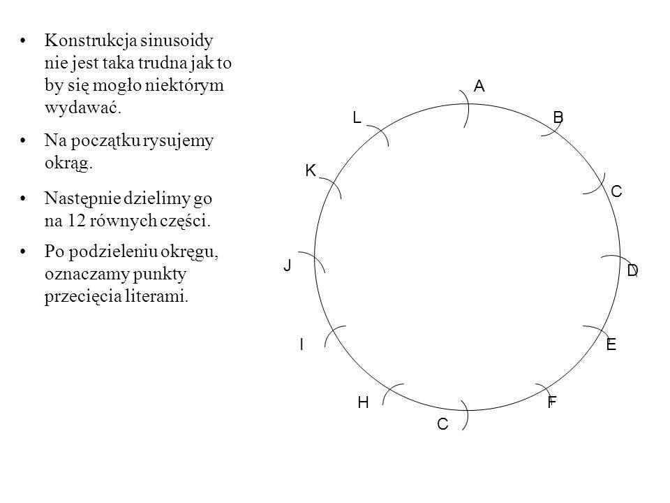 Na początku rysujemy okrąg.