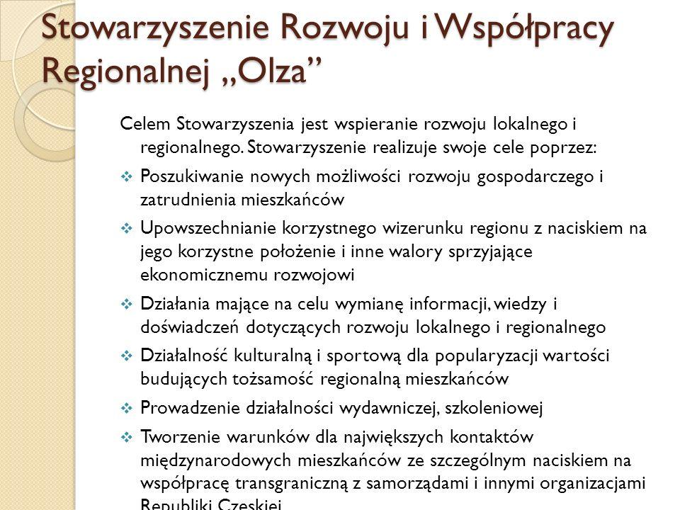 """Stowarzyszenie Rozwoju i Współpracy Regionalnej """"Olza"""