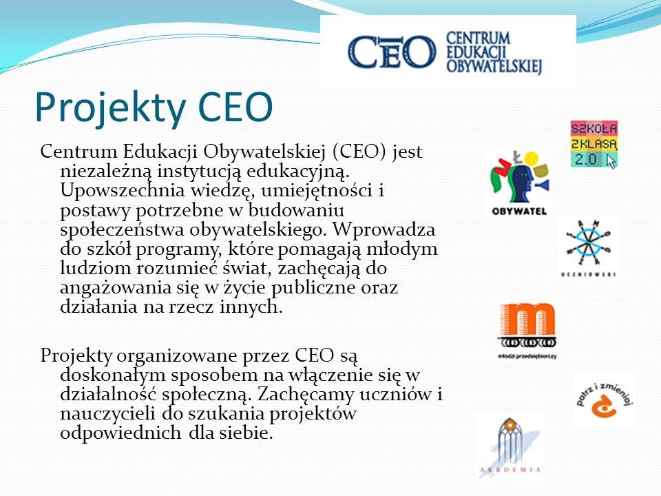Projekty CEO