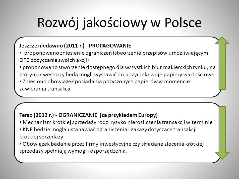 Rozwój jakościowy w Polsce